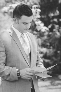 Louisville Wedding, letter reading